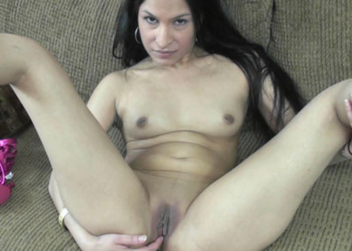 image Petite milf naomi shah is fucking her sweet indian pussy
